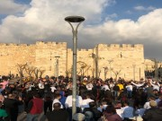 بالفيديو|| محاولات قمع واعتقالات خلال احتفالات التجمع الوطني المسيحي بأعياد الميلاد في القدس