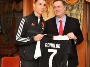 رونالدو يهدي قميصه لوزير خارجية الاحتلال