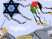 طائرات أطفال فلسطين