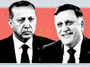 مؤسسة النفط الليبية تتبرأ من اتفاق السراج وأردوغان