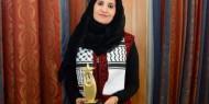 الحرازين.. فلسطينية تفوز بالوسام الذهبي للمرأة العربية