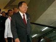 إعفاء وزير خاجية كوريا الشمالية من منصبه