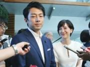 """وزير ياباني يحصل على إجازة """"رعاية طفل"""""""