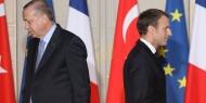 """ماكرون يهاجم """"نظام أردوغان"""" بسبب أنشطته المشبوهة في دعم الإرهاب"""