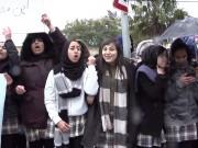 وقفة احتجاجية رفضا لقرار الاحتلال بإغلاق مدرسة عبد الله بن الحسين