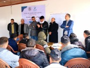 صور|| قيادة تيار الإصلاح تتفقد مراكز التعليم المساند في رفح