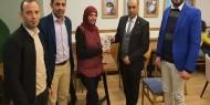 لجنة العلاقات العامة بتيار الإصلاح تكرم الصحفية المصرية سها صلاح