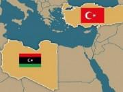 الجيش الليبي يدمر سفينة تركية محملة بالأسلحة والذخائر في ميناء طرابلس