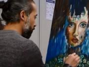 """""""طارق بهيج""""..لاجئ فلسطيني يؤسس مدرسة لتعليم الرسم بألمانيا"""