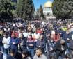 35 ألف مصل أدوا صلاة الجمعة في المسجد الأقصى