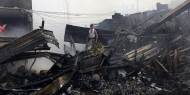 """انتهاء المرحلة الثامنة من حملة """"براعم الخير"""" لدعم ضحايا حريق النصيرات"""