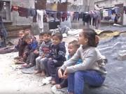 """عائلة اربيع"""" بغزة تعيش ظروفا قاسية وبلا طعام يسد حاجتهم"""