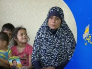 """""""أم ناصر"""".. والدة شهيد مسيرات العودة مهددة بالطرد من منزلها بسبب الإيجار"""