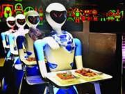 مطعم في هولندا يستبدل العاملين بروبوتات آلية.. تقدم الطعام والشراب