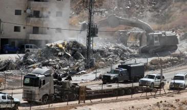 جرافات الاحتلال تهدم منزلا في اللد المحتلة