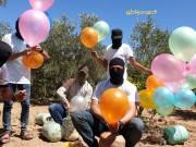 استمرار إطلاق البالونات الحارقة تجاه مستوطنات الغلاف