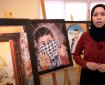 اللاجئ الفلسطيني أحمد الدنان يرسم حلمه في العودة إلى بلاده