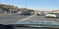 9 إصابات في حادث طرق بالداخل المحتل