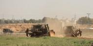 غزة: توغل 6 جرافات عسكرية إسرائيلية ودبابتين شرق الفخاري