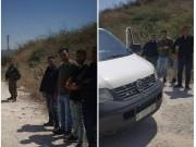 نابلس: الاحتلال يحتجز 4 من عناصر الشرطة الفلسطينية