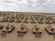 الجيش المصري يجري مناورات عسكرية على حدود ليبيا