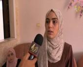 أجواء الفرحة تعم منزل الطالبة مروة ناصر حسونة الثالث مكرر على فلسطين في الفرع العلمي