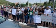عمال يتظاهرون مطالبين بتحسين ظروف عملهم في سخنين
