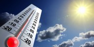 الطقس: الحرارة أعلى من معدلها السنوي