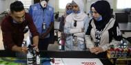 فيديو|| فتيات في مخيم الزعتري يطورن أجهزة روبوت بمكعبات الليغو
