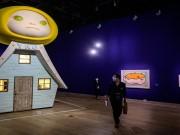 بالصور|| اليابان تتحدى فيروس كورونا بمعرض ضخم للفن التشكيلي