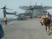 أمريكا: توقف البحث عن 8 مفقودين من عناصر البحرية واعتبارهم في عداد القتلى