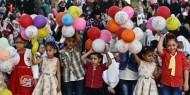 تهاني الأطفال في معهد الأمل للأيتام بحلول عيد الأضحى المبارك