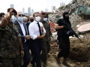ماكرون يعد اللبنانيين: لن تطال أيدي الفساد مساعدتكم