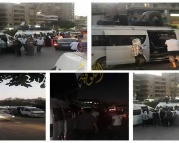 خاص بالفيديو والصور|| تيار الإصلاح يبدأ بإجلاء العالقين في مصر إلى قطاع غزة