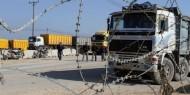 الاحتلال يسمح بإدخال 31 شاحنة محملة بالحديد إلى غزة