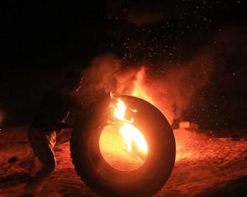 عودة فعاليات الإرباك الليلي على حدود غزة تضامنا مع أحداث القدس