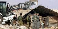 الاحتلال يستولي على بركسات للماشية في الأغوار الشمالية
