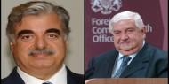 تسريب صوتي قديم بين وليد المعلم ورئيس وزراء لبنان الراحل رفيق الحريري