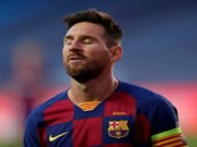 ميسي يغيب عن مران برشلونة