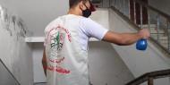 صور|| تيار الإصلاح يطلق حملة تعقيم شمال غزة