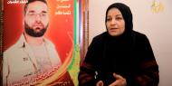 الأسيرة المحررة فاتن أبو مرسة والدة الأسير محمد