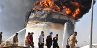 بالصور|| احتراق خزان يحتوي على 5 ملايين لتر من النفط في العراق