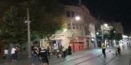 بالفيديو.. تعرض عمال عرب من بلدية القدس لإعتداء في حي يهودي متشدد