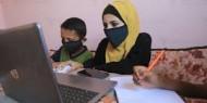 تباين آراء المواطنين حول جدوى التعليم الإلكتروني في غزة