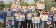 صور   تيار الإصلاح يتظاهر في الوسطى إسنادًا للقائد محمد دحلان