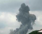 شاهد| انفجار في عين قانا جنوبي لبنان