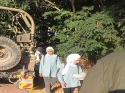 الاحتلال يعيق وصول طالبات اللبن الشرقية إلى مدرستهن