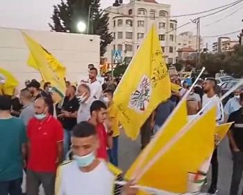 خاص بالفيديو|| فتحاويون يعلنون الإضراب عن الطعام رفضا لتزكية إقليم القدس دون انتخابات
