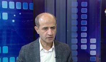 مع د. عبد الحكيم عوض عضو المجلس الثوري لحركة فتح