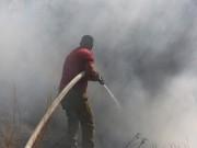 12 إصابة إثر حريق اندلع في مركز توقيف شرطة بيت لحم